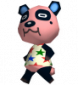 Chang in Animal Crossing: Wild World