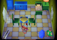Inneneinrichtung Animal Crossing (GC)
