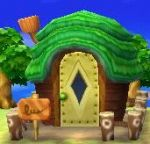 Außenansicht Animal Crossing: New Leaf