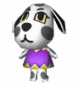 Isolde in Animal Crossing: Wild World