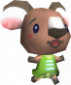 Kornelia in Animal Crossing: Wild World