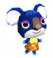 Ute in Animal Crossing: Wild World