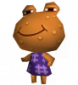 Warzi in Animal Crossing: Wild World
