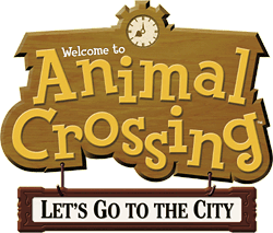 Logo von Animal Crossing: Let's Go to the City