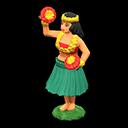 Hula-Puppe [Grün]