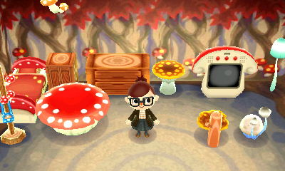 Pilzserie New Leaf Animal Crossing Wiki