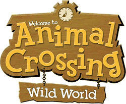Logo von Animal Crossing: Wild World